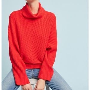 Anthropologie Moth Tisbury Turtleneck Pullover